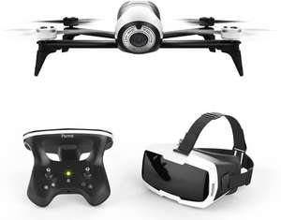 Parrot Bebop Drone 2 + Controller + FPV bril