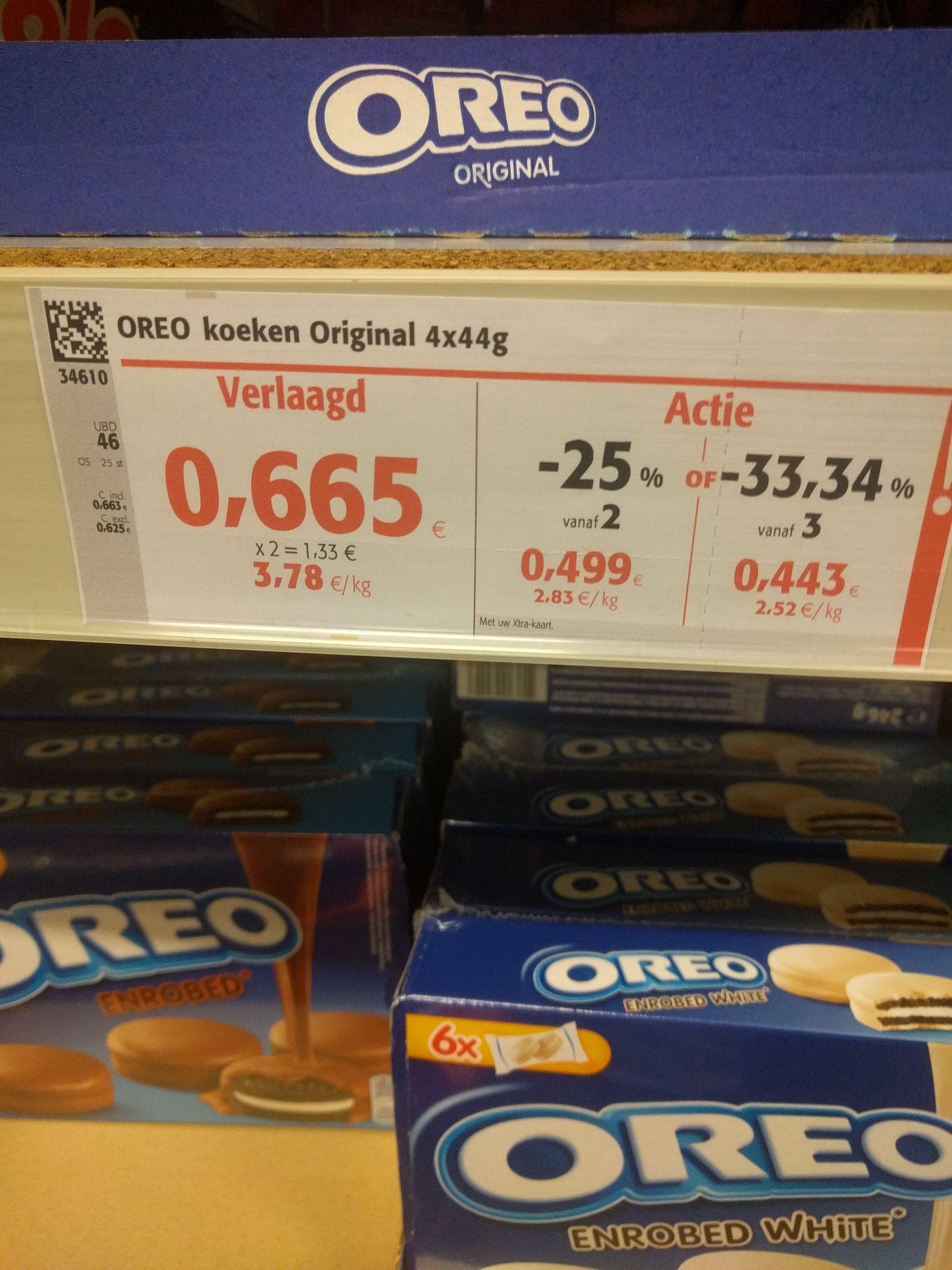 [GRENSDEAL BELGIË] zeer goedkope Oreo bij Colruyt