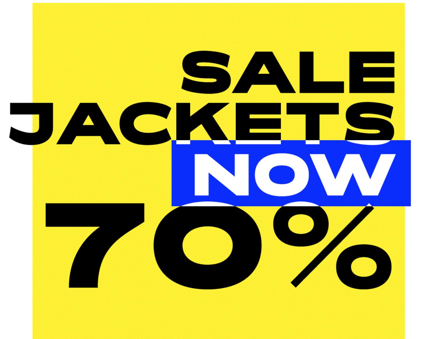 70% korting op heel veel jassen @ Caliroots