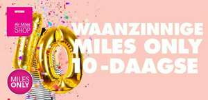 Miles only 10 daagse @Airmilesshop