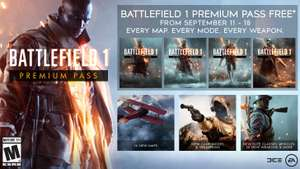 Battlefield 1 Premium Pass gratis te claimen van 11 t/m 18 september @ PS4/XB1/PC