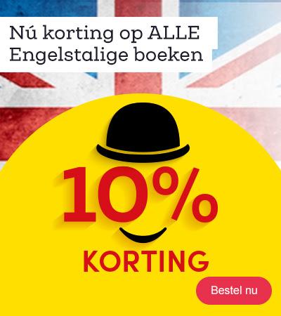 10% korting op alle Engelstalige boeken @ Bookspot