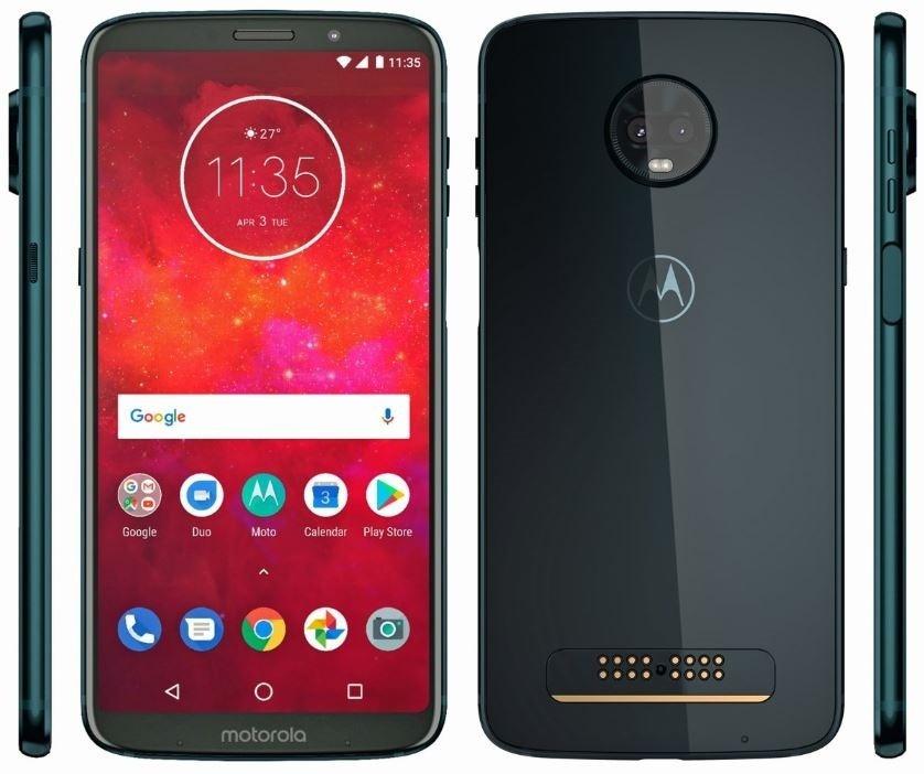 Motorola Moto Z3 Play voor €349 @ Belsimpel
