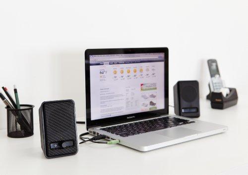 AmazonBasics A100 PC-speakers voor €9,60 (€13,29 zonder prime) @ Amazon.de