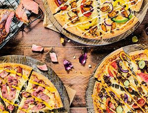 Tweede pizza voor €2