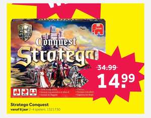 Conquest Stratego nu €14,99 ipv €34,99