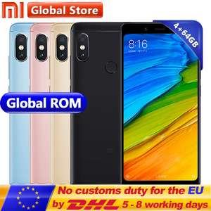 Xiaomi Redmi Note 5 - 4GB - 64GB @Aliexpress