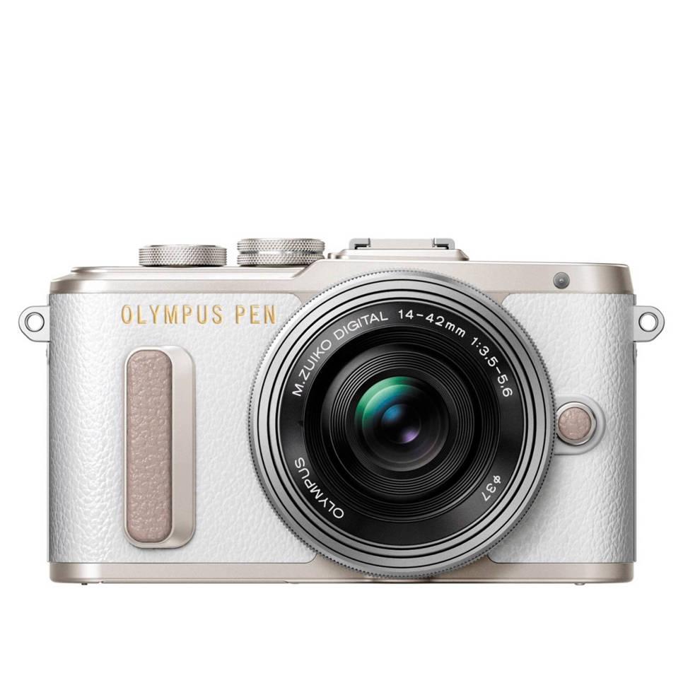 Olympus PEN E-PL8 + 14-42mm f/3.5-5.6 Wit voor €399 @ Wehkamp