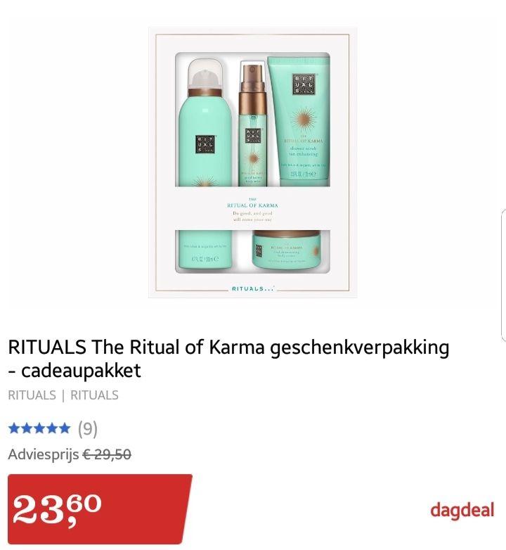 @Bol.com dagdeal RITUALS The Ritual of Karma geschenkverpakking - cadeaupakket