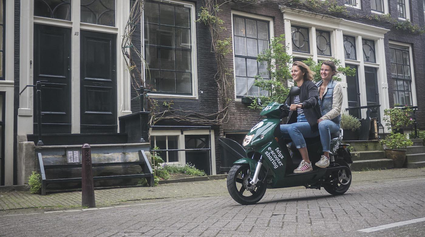 Gratis 30 minuten scooter rijden met Felyx