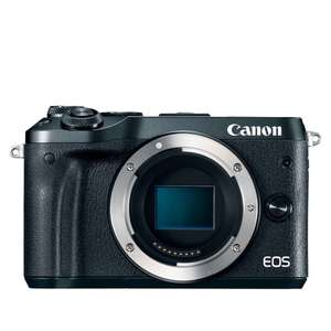 Studenten: Canon EOS M6 Black Body Systeem camera