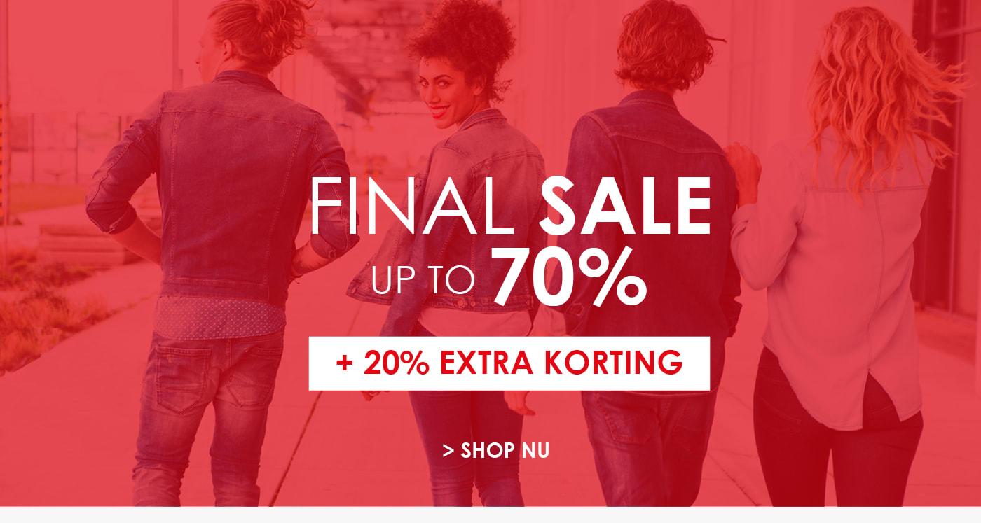 Tot 70% korting + 20% extra korting bij Jeans Centre