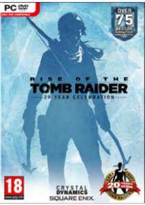 Rise of the Tomb Raider: 20 Year Celebration (Steam) @CDKeys