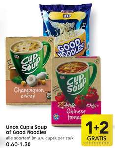 Emté: Unox Cup a Soup of Good Noodles 1+2 gratis
