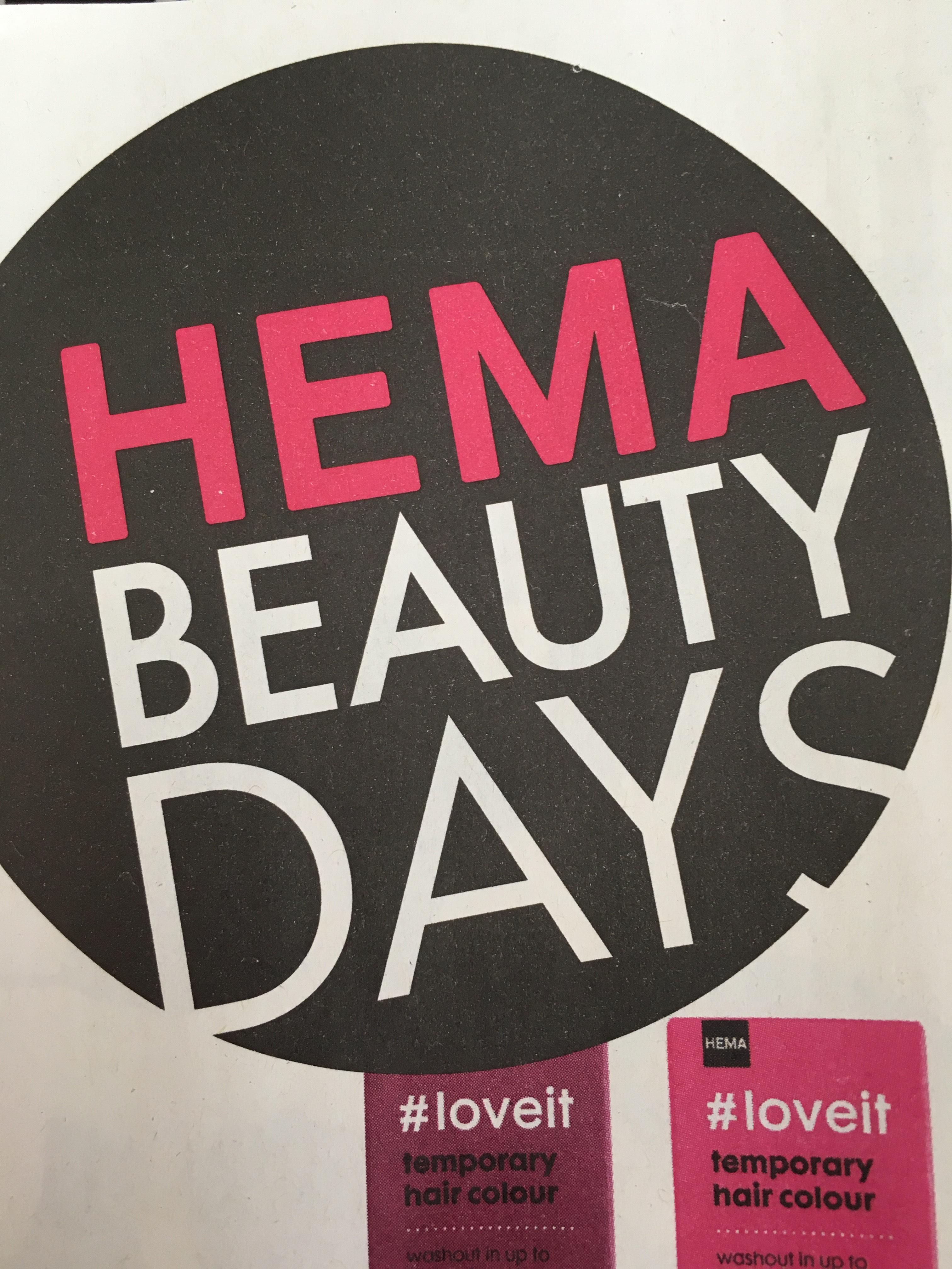 Hema | Beauty days