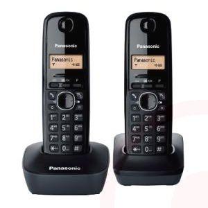 Panasonic KX-TG1612NLH Duo DECT telefoon voor € 23,90 @ Drogistplein