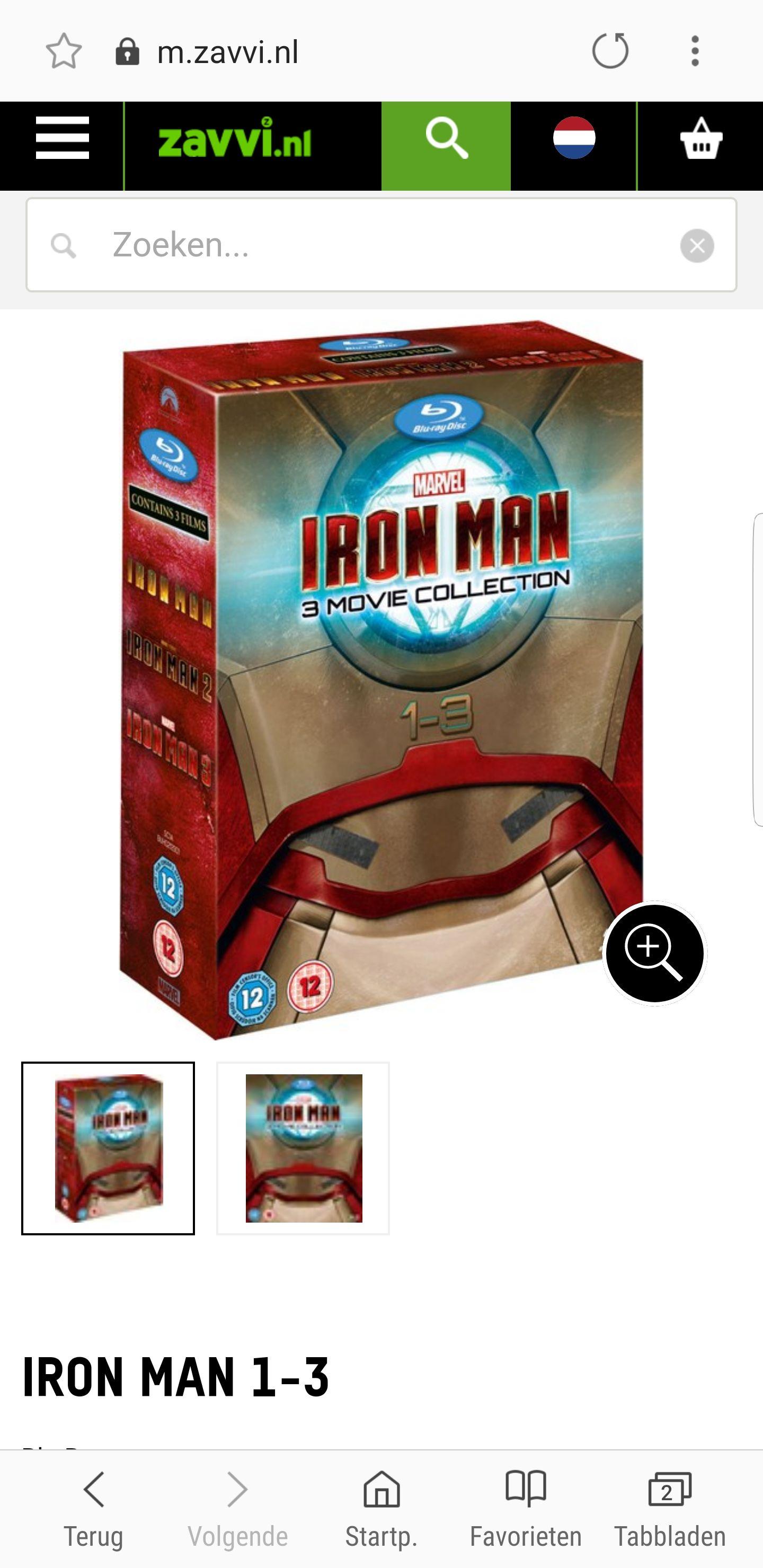 Iron man 3 film Bluray collection