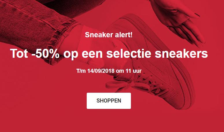 Sarenza | Tot 50% korting op sneakers, o.a. Nike, Adidas en New Balance