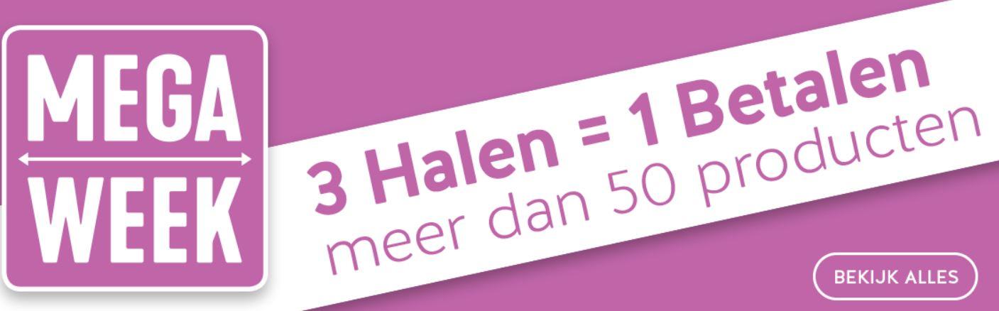 3 halen 1 betalen op 60+ artikelen @ Holland & Barrett