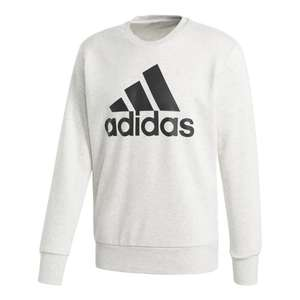 adidas Essentials Big Logo Crew Sweatshirt -55% @ Tennis Point