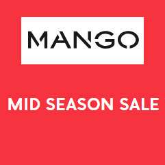Mid Season Sale (tot -50%) @  MANGO