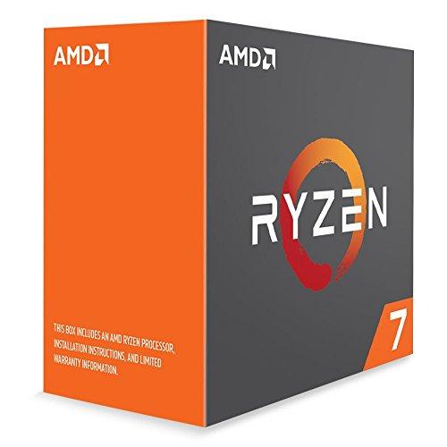 AMD Ryzen 7 1800X (Boxed zonder koeler) voor €168,63 @ Amazon.es