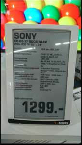 [Grensdeal Duitsland] Sony 65XF9005 UHD Led tv