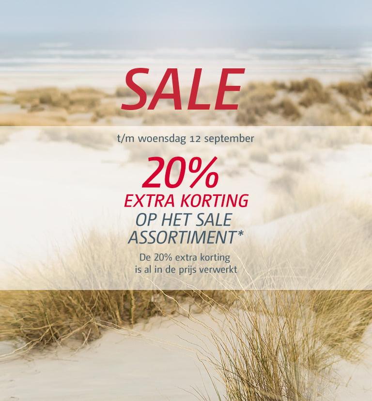 20% extra korting op de sale @ Bever