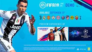 FIFA 19 Demo + link (PC/XBox One/Switch/ Playstation 4)