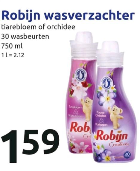 Robijn wasverzachter nu voor €1,59 @ Action