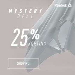 Mystery deals >> vandaag 25% extra korting in Classics outlet @ Reebok