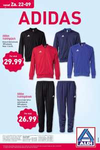 Trainingspak Adidas @Aldi