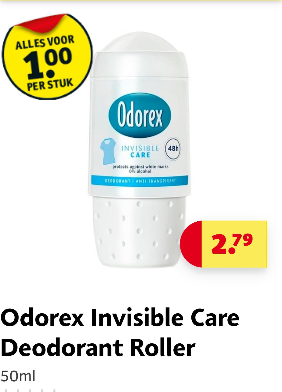 Odorex deodorant 1,-