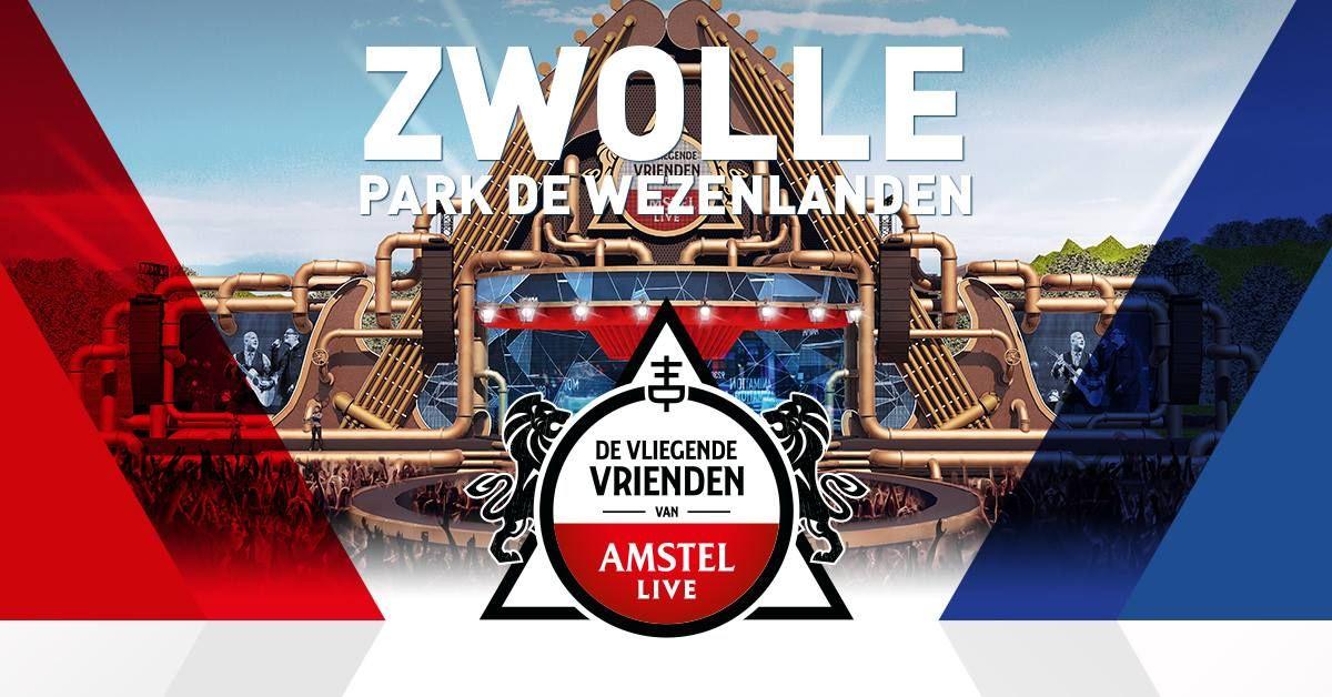 Twee gratis muntjes de Vliegende Vrienden van Amstel Live (Morgen)