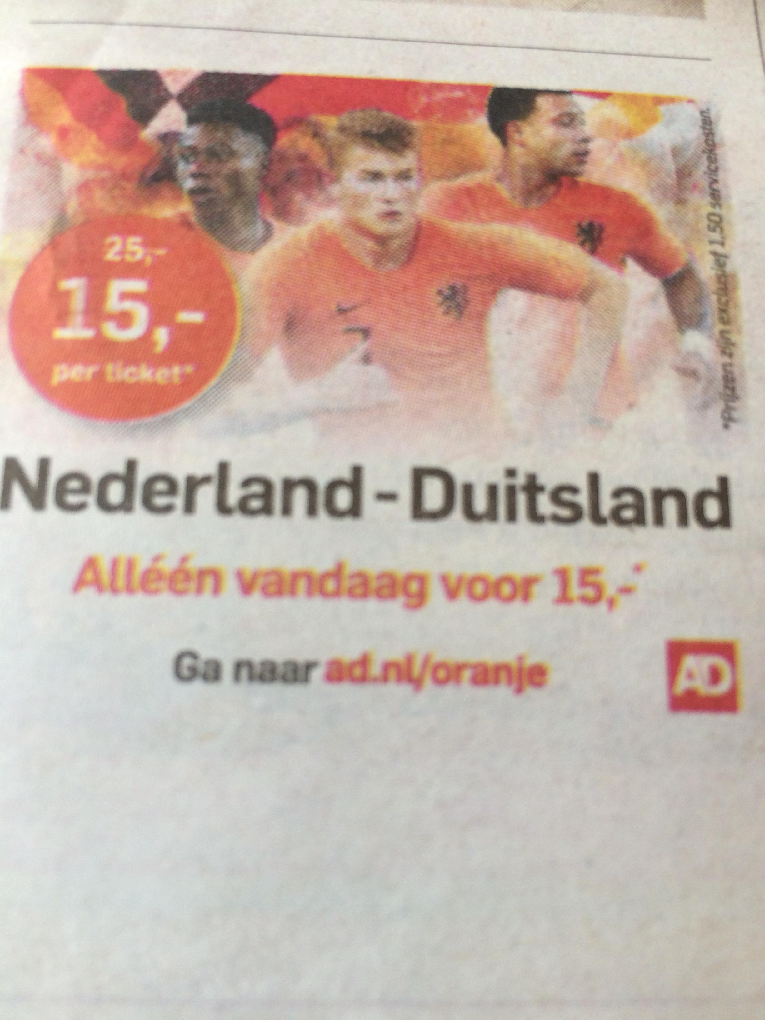 Nederland-Duitsland