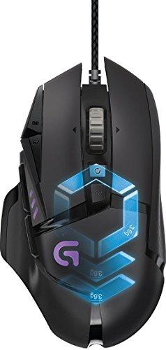 Logitech Proteus Core G502 Instelbare gaming muis, zwart (warehousedeals)
