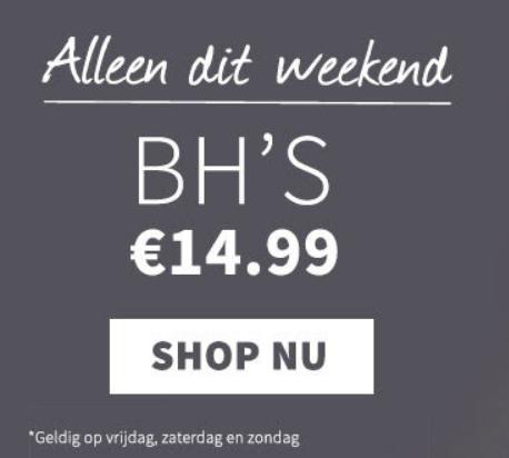 Sapph   Alleen dit weekend bh's voor €14,99