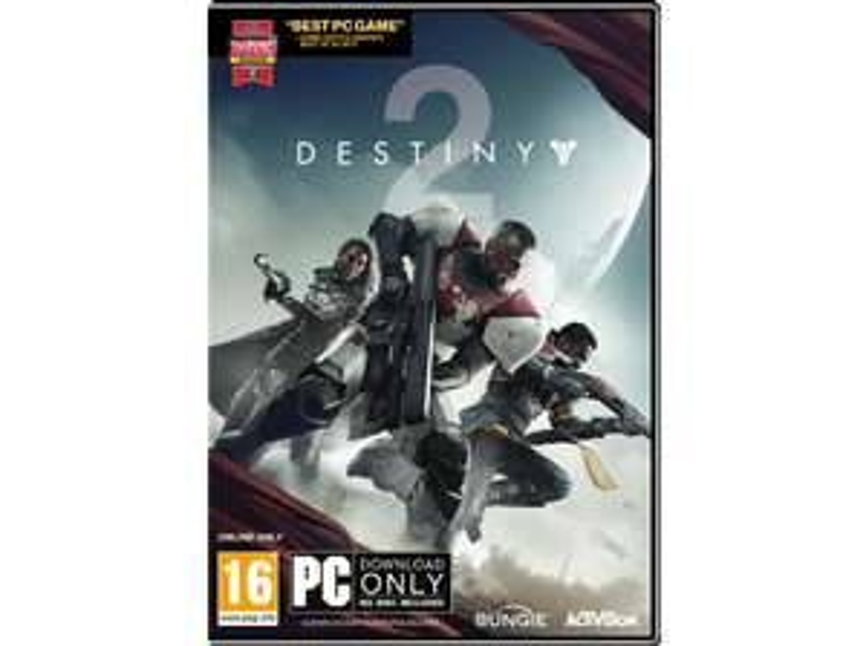 Destiny 2 (Code-in-a-box) | PC voor €9,99 @ Media Markt