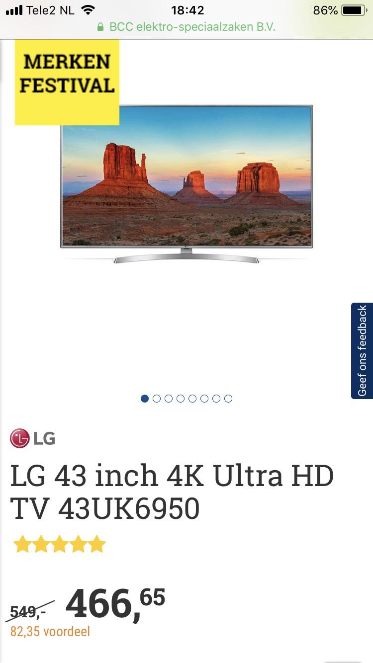 Tv Lg 43UK6950