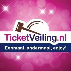 Vandaag geen 5 euro administratiekosten bij ticketveiling