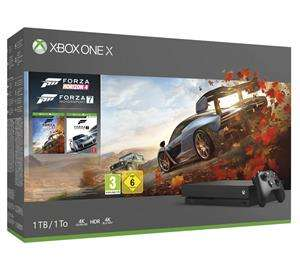 Xbox One X 1TB + Forza Horizon 4 +  Forza 7 voor €479 @ Gama Mania