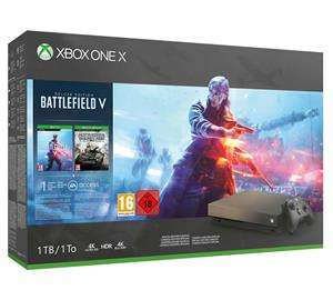 Xbox One X 1TB Special Edition + Battlefield V + Battlefield 1943 voor €479 @ Game Mania