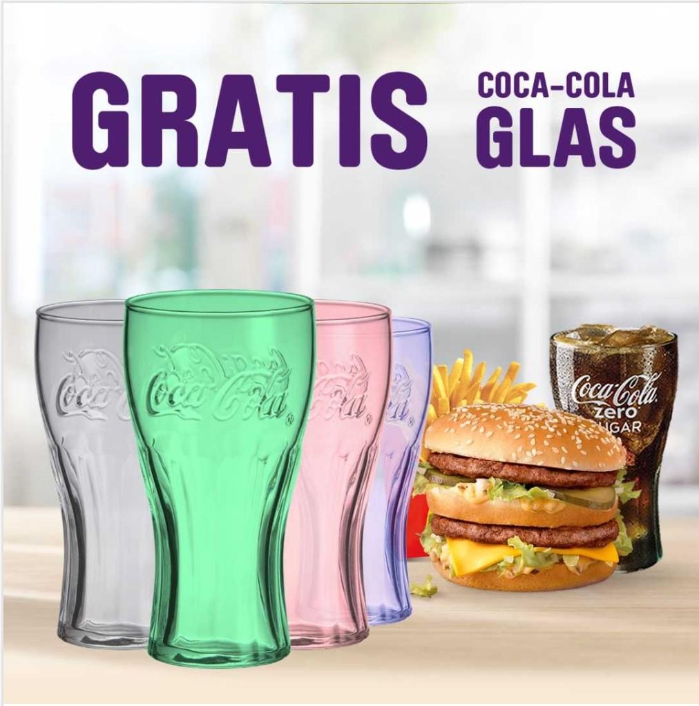 McDonalds - Coca-Cola glas