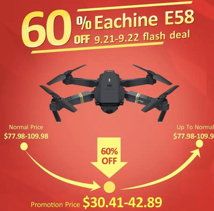 Eachine E58 drone (DJI Mavic clone)