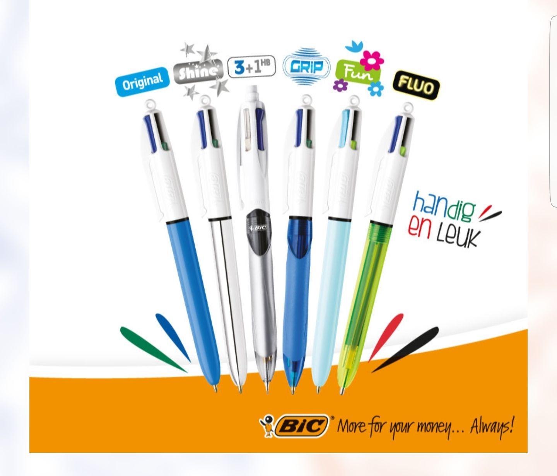 Gratis BIC 4 Colours pen