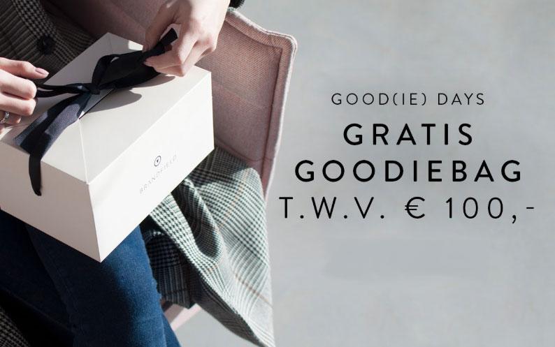 Gratis Goodiebag t.w.v. €100 (bij aankoop va €50) @ Brandfield