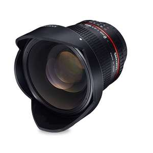 Samyang Optics 8mm f/3.5 UMC Fish-Eye CS II (Canon-EF) voor €199 @ Cameraland