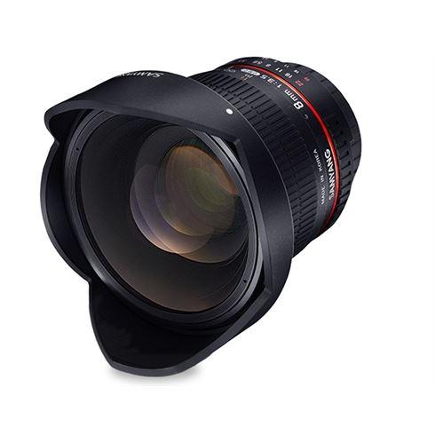 Samyang Optics 8mm f/3.5 UMC Fish-Eye CS II (Canon-EF) voor €199 @ Cameraland