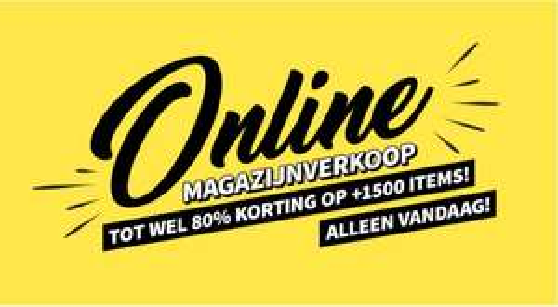 Online magazijnverkoop - tot 80% korting @ Coolcat