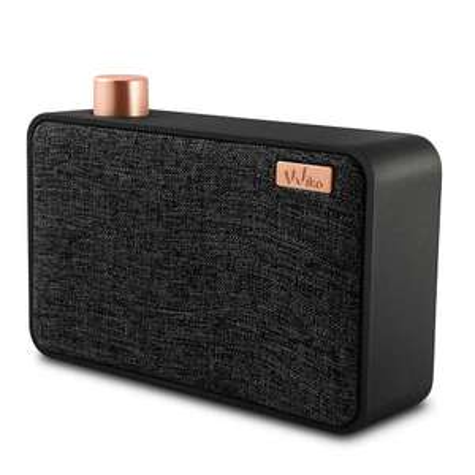 Wiko Wishake bluetooth speaker zwart voor €6,05 @ Centralpoint